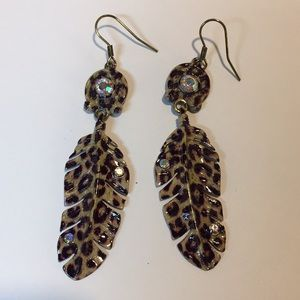 Jewelry - Leopard Print Earrings